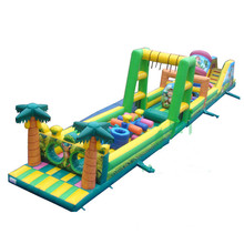 Factory price Giant inflatable adult obstacle