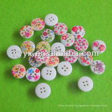 Tree Shape 2 Holes Wooden Button