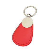 Corrente chave de couro ajustada do presente de casamento dos presentes relativos à promoção