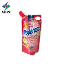 Bolsa de empaque de impresión plástica de jugo líquido
