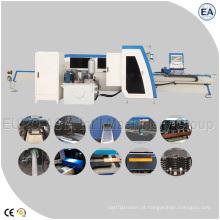 Nova máquina rápida de perfuração e cisalhamento de barramento CNC