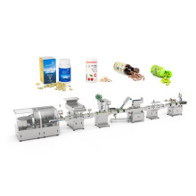 High speed automatic tablet capsule counting bottle packing machine line
