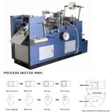 Máquina de colar automática do filme da janela do envelope (ACTM-385)