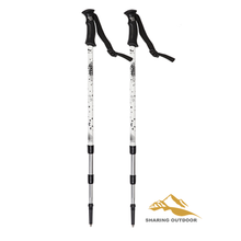 Factory selling for Alpenstock Trekking Poles Aluminum Foldable Ultralight Antishock Trekking Poles export to Kazakhstan Suppliers