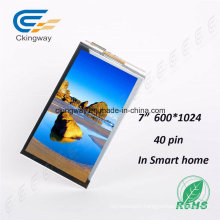 """7"""" 600*1024 40 Pin Touch Screen Display"""