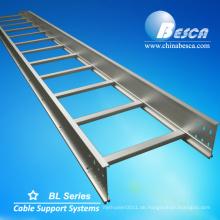 NEMA-zertifizierte Standard Aluminium verzinkt Leiter Typ Kabelschalen Kabel Leiter