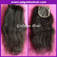 Hotselling High Quality Large Stocks Factory Price Brazilian Remy Hair Top Closure