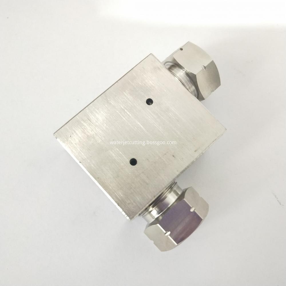 Waterjet Spare Parts High Pressure Pipe Fitting