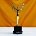 Oscar Sports Événement Crystal Trophies Awards Personnalisé Logo Mots Champions Cup Trophée