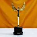 Oscar Sports Event Crystal Trophies Awards Customized Logo Words Champions Cup Trophy