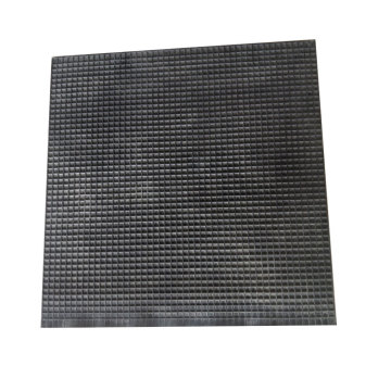 Square Cell Rubber Pad