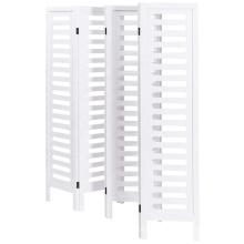 White Wood restaurant room divider 6 panels