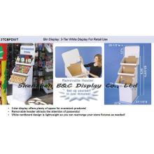Soporte de exhibición del suelo del papel para productos con alta calidad (B & C-A065)