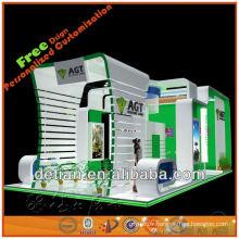 schéma de coquille, conception de stand d'exposition pour le salon commercial de Changhaï 6m * 6m