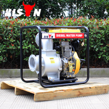 BISON China Taizhou 6 inch Farm Irrigation Movable Diesel Water Pump