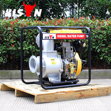 BISON China Taizhou 6 pulgadas Farm Irrigation Movable Diesel Water Pump