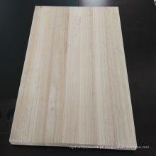 Placa de corte de madeira de borracha de Tailândia para móveis
