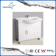 Hot Sell Australian Style White Baking Bathroom Furniture (ACF6803)