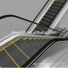 Escada rolante de shopping center de 30 graus com passos de largura de 600mm