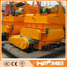JS750 Stationary Twin Shaft Electric Concrete Mixer With CE
