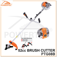 Powertec 1700W 2-Stroke Gas Brush Cutter (PTG08B)
