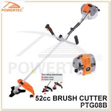 Powertec 1700W 2-Stroke Gas Brush Cutter (PTG08B)