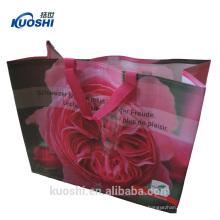 material personalizado grande saco tecido pp