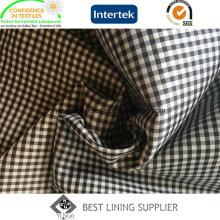 Klassische kleine Karomuster Anzug Jacke Mantel Liner Lining China Hersteller