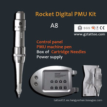 Goochie Rocket Digital semi máquina de tatuaje de maquillaje permanente