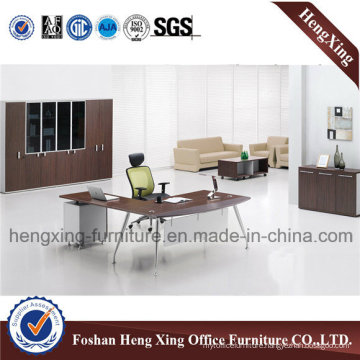 Modren Metal Base Office Desk, Office Table (HX-5DE377)