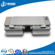 Plancher d'étage au sol, joint d'aluminium