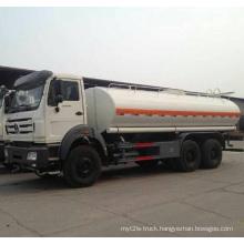 6X4 Rhd 25000liters Benz Fuel Tanker Truck