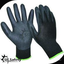 SRSAFETY песчаная нитриловая нить вязальная промышленная нитриловая рабочая перчатка