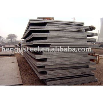 supplying hot rolled steel plate