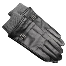 classical fashion windproof sheepskin leather men glove