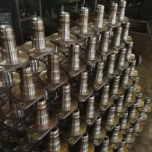 Schmiedewellenteile aus rostfreiem Stahl