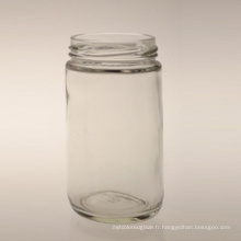 Pot de stockage en verre de haute qualité