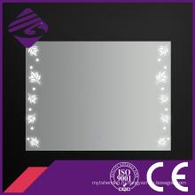 Jnh247 Самый новый дизайн Прозрачный освещающий зеркало для ванной комнаты