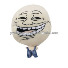 Hot sale big head different expression soft doll plush doll toy stuffed toy