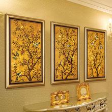 Mais nova paisagem artesanal quadro pintura a óleo sobre tela