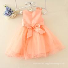 el cumpleaños del fabricante del vestido de fiesta de la fábrica de la ropa de los niños fábrica las muchachas de la flor dedeaded la fábrica china MOQ bajo diseño modificado para requisitos particulares