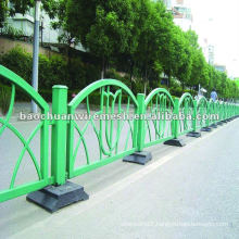 White competitive price on the road with the fence (supplier)