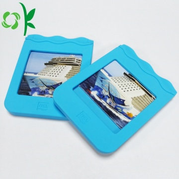 Tùy chỉnh Siliocne Name Business Card Holder
