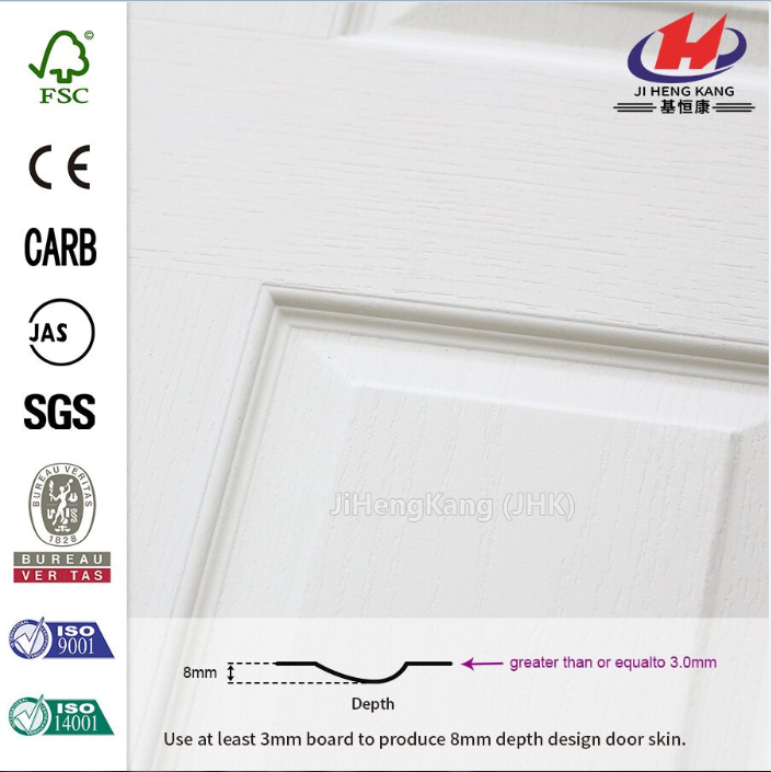 Hot Sell Design  MDF White Primer Door Skin