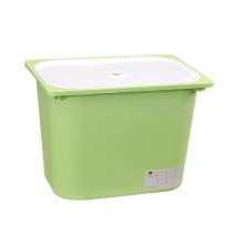 Caixa de recipiente de armazenamento de plástico sólido para armazenamento (SLSN032)