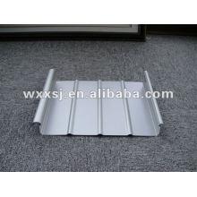 hoja de acero para techos de cerradura clip galvanizado prepintada