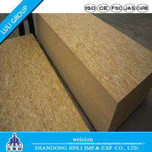 Tablero OSB 1220 * 2440 * 12mm con pegamento WBP