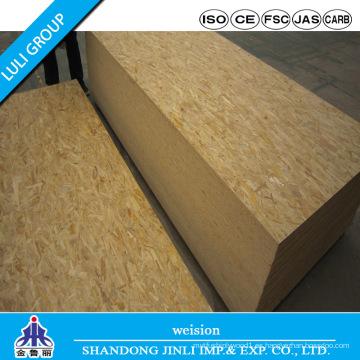 Tablero OSB 1220 * 2440 * 12mm con pegamento WBP