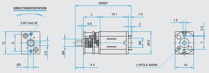 Small Gear Motor