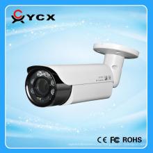 Híbrido caliente de la venta 1080P 2MP AHD / TVI / CVI / CVBS 4 en 1 cámara de vídeo baja de la iluminación HD Waterproof bullet array IR LEDs